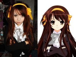 Long Hair Haruhi Variation by PsyckoCinderella