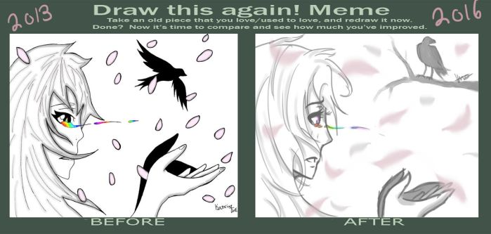 Draw This Again Meme! 2013-2016 by KutieKittyKandyKorn