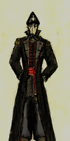 Death Korps Commissar by The-Emperors-Finest