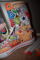 Pokemon Shoe by Funkarilla