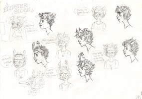 fantroll sketches by Aymeysa