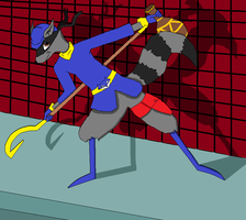 Sly Cooper by WhiterStar
