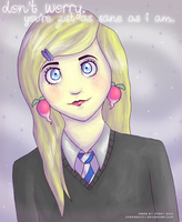 Luna Lovegood by stripedkitty