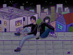 Eremika-City Lights by CritterInvasion