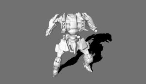 Mecha Concept WIP Update 3 by dematics