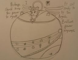 Palutena: Goddess of Light! (and now balloons) by AngelOfInflation