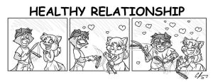 Healthy Relationship by Candy-Janney