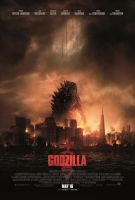 New Official Godzilla 2014 poster by Awesomeness360