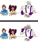 Pokemon: Dinner Time by In-The-Machine