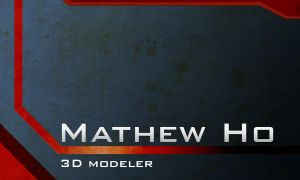 Mathew Ho - Name Card by mhofever
