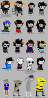 Homestuck According to Siri by peachmix