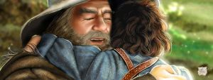 It's Good to See You, Gandalf by Luaprata91