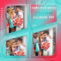 Photopack 0572 - Bella Thorne And Gregg Sulkin by WhateverPhotopackss