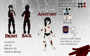 Character Sheet: C3 by i-Anzu