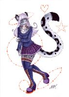 Naga the snowleopard by Neko-Maya
