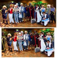 Youmacon Yu-Gi-Oh Group by stinkulousreddous