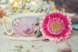 A floral tea by FrancescaDelfino