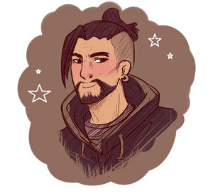 Overwatch - New Hanzo by akkame