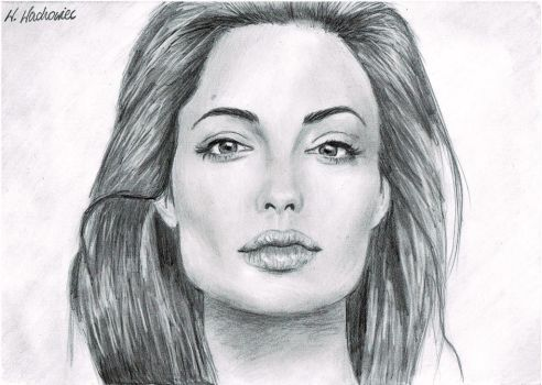 Angelina Jolie by VeronicaLucy