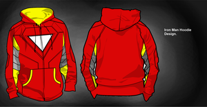 Iron Man Hoodie Design by Biscuits-and-Jam