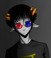Sollux Headshot by Pride-kun