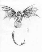 Tattoo Design - Dragon by g-puck