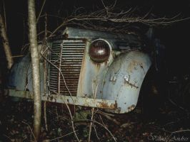 The Old Car by Behind-walls