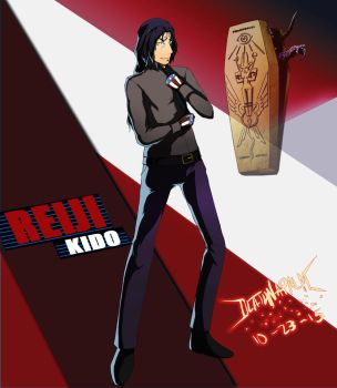 Commission: Reiji Kido(Shadow) - P4AU by DeathNapalm