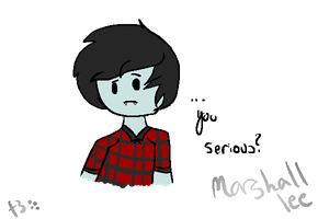 Marshall lee by T3doesart