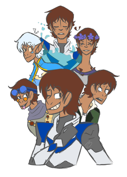 Just A Lot Of Lance by OneHellOfAGayDemon