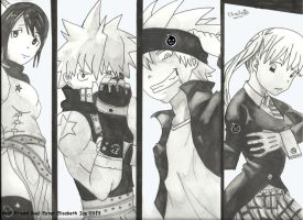 Best Friends Soul Eater by ElisabethIce