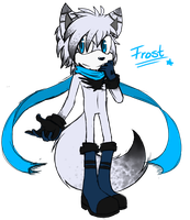 Frost the cat (snow leopard) by shadzter