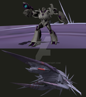 MMD NC Accessory - Decepticon Warship Nemesis  by Zeltrax987