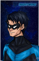 Nightwing - Dick Grayson by Coloralecante