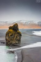 Iceland. The Rock. by RaumKraehe