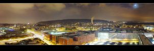 Zurich by night II by boli