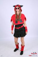 Team Magma Grunt female cosplay by shadowhatesomochao