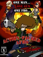 action packed afro by AfroAlex