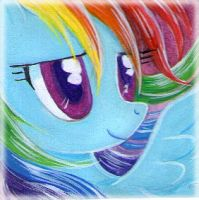 Free icon RainbowDash01 by RainWaterfallsZone