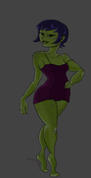 Leech With Clothes by The-Concept-Artist