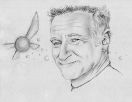 RIP Robin Williams by dmbarnham