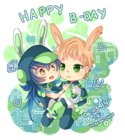 -- DMMD : Happy Birthday Noiz! -- by Kurama-chan