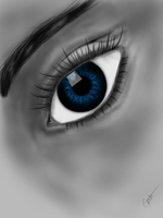Blue Eyes 2 by Cycotic-Menace
