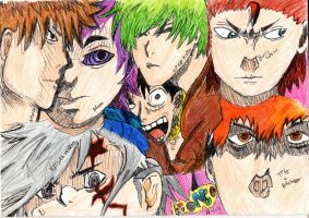 Manga Characters and others by ulTrawaZer