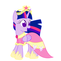 Princess Twilight Sparkle by The-Sliver-Stars