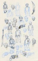 BH sketches 2 by donsimoni