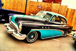 Back Alley Buick by 100kt-tape