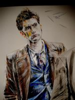 10th Doctor by drinkingchampers