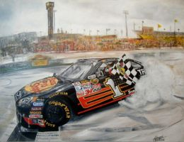 NASCAR by iconicarts