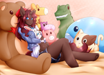 Plushie paradise by Sura-Resch